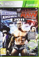 Smack Down vs Raw 2011 WWE (XBox 360) NUOVO
