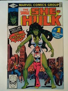 The Savage She-Hulk No.1  1980  1ST APPEARANCE SHE-HULK  Marvel