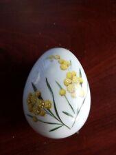 """Porcelain limoges france Egg Trinket Box 4""""×3"""""""