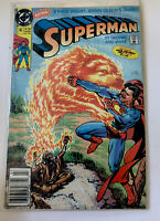 SUPERMAN Comic Book 2nd Series #45 DC Comics 1990 Bagged Boarded ❤️
