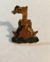Vintage COON HUNTER Lapel Hat/Lapel Pin Pin-back
