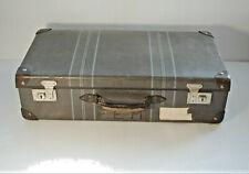 Vintage Suitcase McBrine Baggage Canada  for Display Props Décor