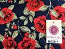 "Vintage floral shabby chic rose printed 100% Cotton Poplin fabric 58"" M535 Mtex"