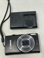 Canon PowerShot ELPH 350 HS 20.2MP Digital Camera - Black