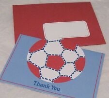 16 Thank You Cards  POTTERY BARN Kids SOCCER Sports Note Card NIP