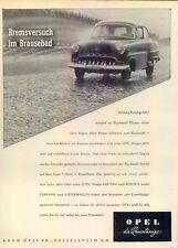 Opel-Rekord-1954-Reklame-Werbung-genuine Advert-La publicité-nl-Versandhandel