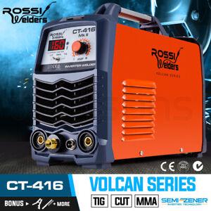 【EXTRA15%OFF】ROSSI CT-416 Welder Inverter TIG MMA ARC Plasma Cutter Welding