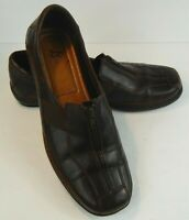 Life Stride Women's Darien Loafer Size 8 M Dark Brown Leather Comfort Shoes