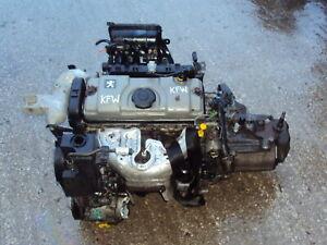 Peugeot 206 307 2001-2007 Complete 1.4 Petrol Engine & 5 Spd Gearbox TU3JP KFW