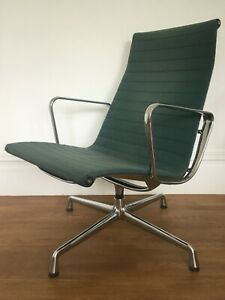 GENUINE CHARLES EAMES EA116 LOUNGE CHAIR FOR VITRA -  chrome 3 available