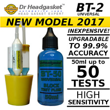 BT-2 2x50ml COMBUSTION LEAK BLOCK TESTER KIT CO2 HEAD GASKET TEST FLUID 5A
