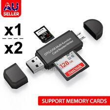 USB Type C USB-C Micro TF SD Card Reader Adapter For Macbook Samsung Android