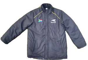 Rare Genuine Official Bafana SOUTH AFRICA Vintage Home Football Team Jacket