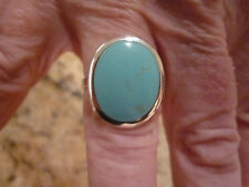 Cabochon Blue Costume Rings