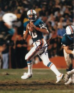 Don Strock #0 8x10 Signed Photo w/ COA  Miami Dolphins 033119