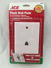 Ace Hardware Ace 36205 Flush Wall Plate For Telephones, Answering Machines & Fax