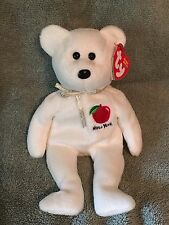 TY Beanie Baby - NEW YORK STATE Teddy Bear - Pristine with Mint Tags - RETIRED