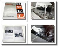 Opel Kadett B mit 1,1 Ltr. Motor  Betriebsanleitung Wartung Pflege 1965