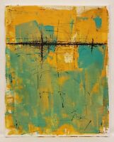 No.806 Original Abstract Minimal Modern Textured Painting By K.A.Davis