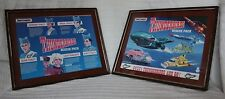 Framed Matchbox Thunderbirds Rescue Pack Box, 1992, Unique, Gerry Anderson