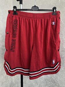 Vintage Champion Men's Chicago Bulls Shorts Size XL