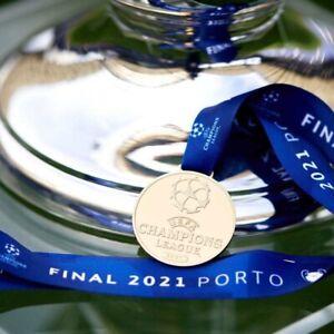 CHELSEA CHAMPIONS LEAGUE WINNERS 2021 MEDAL REPLICA UK🇬🇧STOCK COLLECTORS ITEM