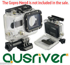 Skeleton/Ported Protective Housing Waterproof Case Lens for GoPro Hero 4/3+/3