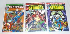 DR STRANGE #1, 2 & 4 1974 HIGH GRADES