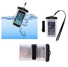 for SONY XPERIA E4, E2104 Silver Armband Protective Case 30M Waterproof Bag U...