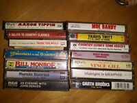 Vintage 80s And 90s Country Music Cassette Tapes Lot Of 14