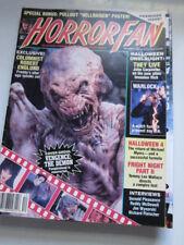 Horror fan #1  Robert Englund  They Live  Warlock  Hellraiser poster