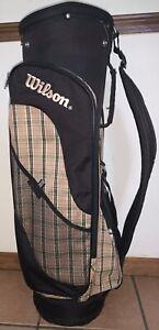 Wilson Golf Club Bag (Plaid) - Good Condition! 33in x 12in