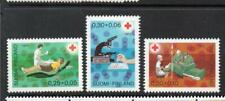 FINLAND MNH 1972 SG820-822 RED CROSS FUND - BLOOD SERVICE