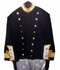 British Britain HMS Navy Officer Captain Dress Uniform Coatee Jacket Tunic Levee