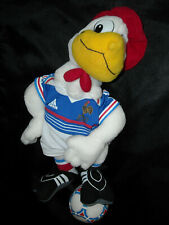 RARE! FRENCH FOOTBALL FEDERATION FFF 1998 FIFA WORLD CUP SOCCER CHAMPIONS MASCOT