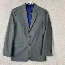 Nautica Boy's 2 Piece Suit Jacket Vest Gray Size 20