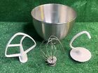 kitchenaid mixer bowl and accessories K45 photo