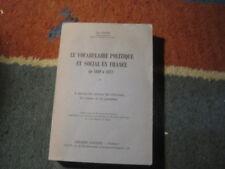 Jean DUBOIS: le vocabulaire politique et social en France de 1869 à 1872