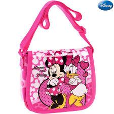 Borsa Tracolla Regolabile con Patta Scuola Tempo Libero Minnie and Daisy Disney