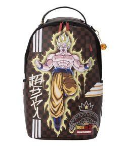Brand New- Sprayground DBZ Super Saiyan Goku Graphic Backpack