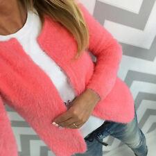 Autumn Women Long Sleeve Jacket Coat Fashion Sweater Lady Loose Outwear Cardigan