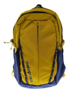 patagonia Refugio Back Ylw 47912Sp19 Nylon Yellow Back Pack From Japan