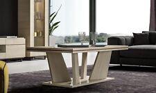 Couchtisch Beistelltisch Kaffeetisch Beige Hochglanz Moderne Italienische Möbel