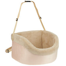 Me & My Pets Soft Pink Car Booster Seat Dog/Puppy Travel Safety Carrier Bag/Bed