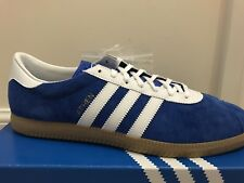Adidas Athen Blue BB3125 Size? Exclusive Suede Trainers Size UK 10 US 10.5 BNIB.