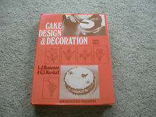 CAKE DESIGN and DECORATION ~ Published 1978 ~ Old Fashioned Cakes and Methods...