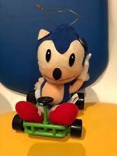 Sonic The Hedgehog Peluche Raro Kart 1992 oficial japonesa Sega