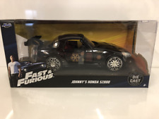 Fast and Furious 1995 Johnnys Honda S2000 Black 1:24 Scale Jada 99541