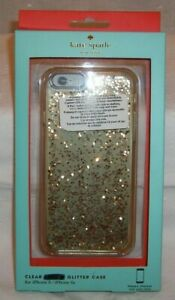Kate Spade New York Clear Glitter Case iphone 6 / 6s