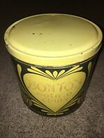 Vintage Bon Ton Potato Chip Empty Tin Can